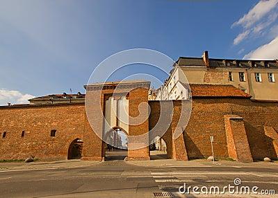 Sailors Gate, Torun, Poland