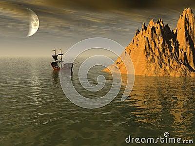 Sailship Island