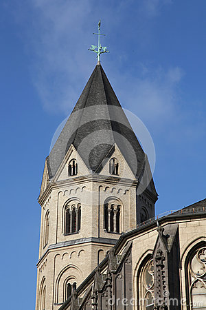 Saint Andreas church in Koeln (Cologne)