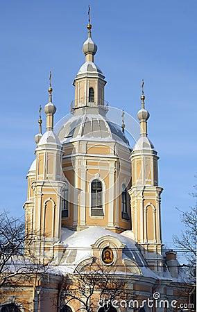 Saint Andrew Church in Saint Petersburg