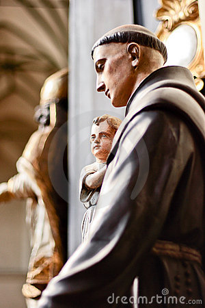 Saint Anthony.