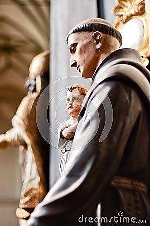 Free Saint Anthony. Stock Images - 8375144