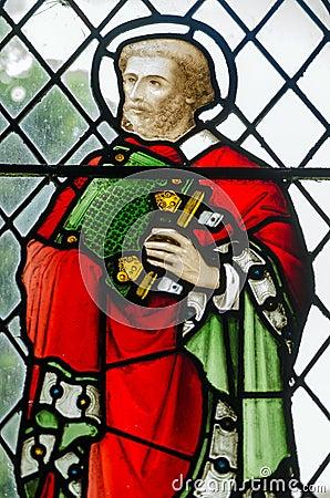 Saint Barnabas Stained Glass window