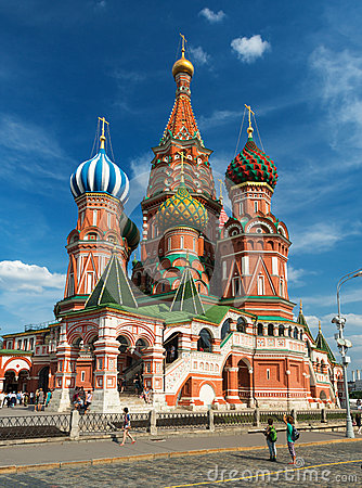 Free Saint Basil Cathedral On The Red Square In Moscow, Russia Stock Photography - 32573022