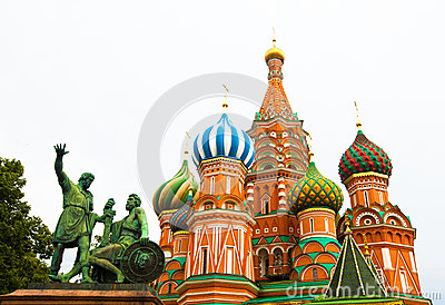 Saint Basil s cathedral in Moscow
