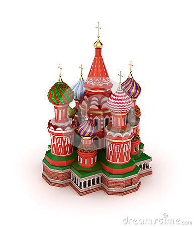 Saint Basil s Cathedral on the Red Square in Moscow, Russia