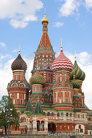 Saint Basils cathedral, Moscow