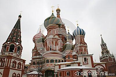 Saint Basils cupolas
