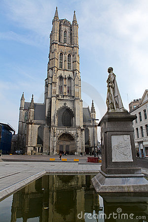 Saint Bavo Cathedral in Ghent