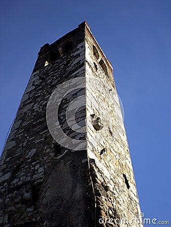 Saint Biagio belltower Trentino alto adige Italy