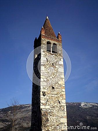 Saint Biagio belltower Trentino alto adige