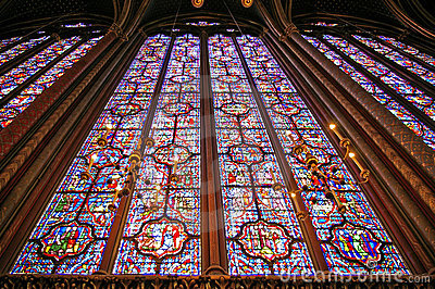 Saint chapelle in paris
