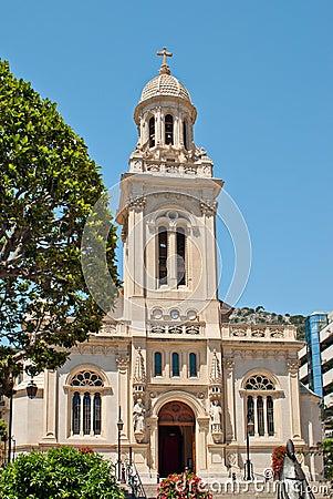 Free Saint-Charles Church In Monaco Stock Photo - 21093200