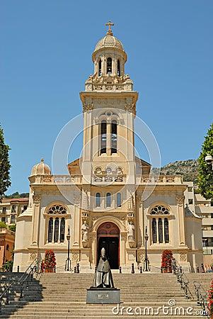 Free Saint-Charles Church In Monaco Stock Photo - 6961610