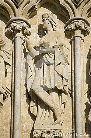 Saint Damian Statue