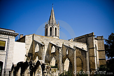 Saint Didier Church In Avignon Stock Photo - Image: 13595570
