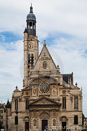 Saint Etienne du Mont Church Paris