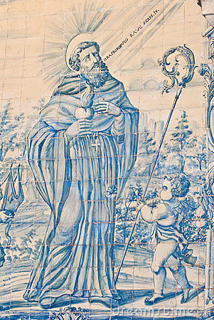 Saint Francis Antique Tiles