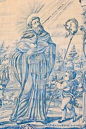 Saint Francis Antique Tiles