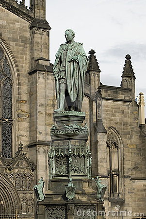 Saint Giles Cathedral. Edinburgh.