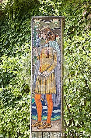 Saint Imre Herczeg Mosaic