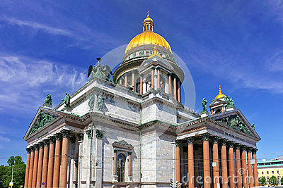 Saint Isaac s Cathedral in St Petersburg, Russia