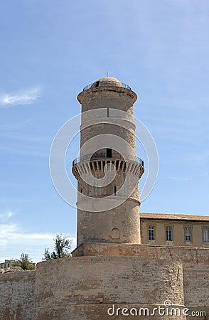 Saint Jean fort in Marseille