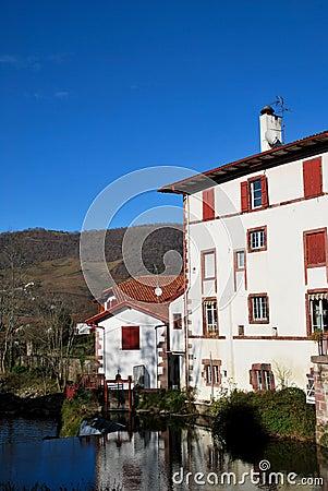 Saint-Jean-Pied-de-Port in basque province