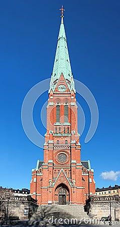 Saint Johannes Church in Stockholm