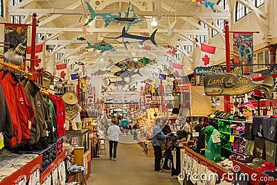 Saint John NB City Market Editorial Stock Photo