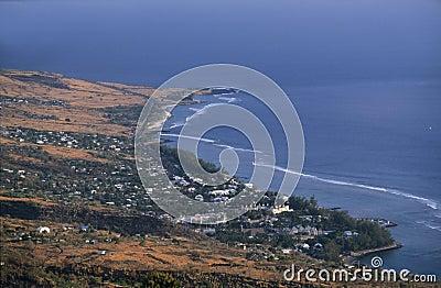 Saint Leu town,  Reunion Island