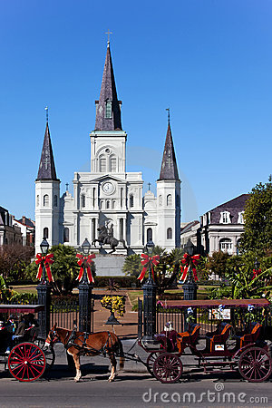 Saint Louis Cathedral Day