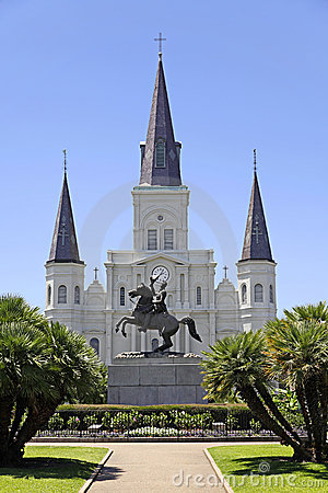 Free Saint Louis Cathedral In New Orleans, Louisiana. Royalty Free Stock Photos - 9787348