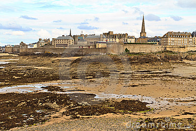 Saint Malo City View, France
