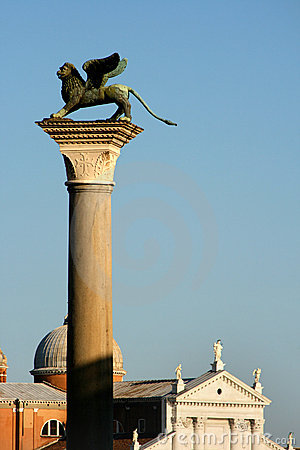 Saint Mark column, Venice