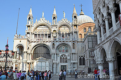 Saint Mark s Basilica Editorial Image