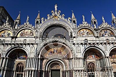 Saint Mark s Basilica Details Venice Italy