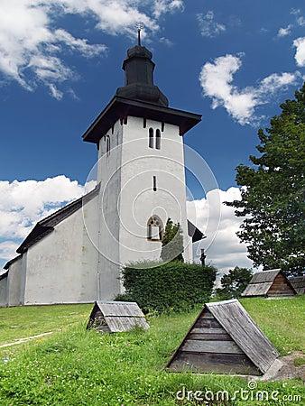 Saint Martin church in Martincek