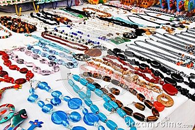 Saint Martin - Colorful Necklace Jewelry Marigot