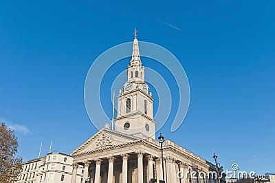 Saint Martin dans les domaines à Londres, Angleterre
