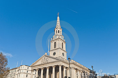Saint Martin In The Fields at London, England