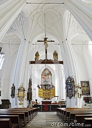 Saint mary church in gdansk, poland