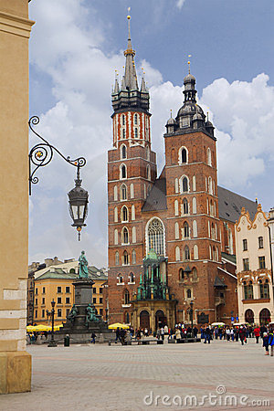 Saint Mary s church in Krakow, Poland
