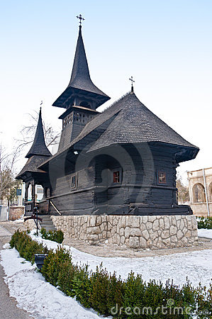 Saint Mary wooden monastery, Techirghiol, Romania