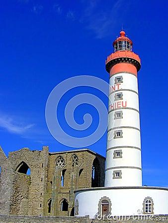 Free Saint Mathieu Lighthouse Stock Photos - 13028133