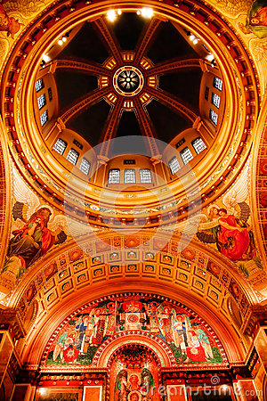 Saint Matthew Cathedral Dome