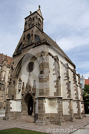 Saint Michael Chapel in Kosice (Slovakia)