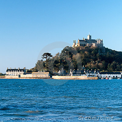 Saint Micheal s Mount, Cornwall, England.
