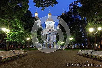 Saint Nicholas Cathedral, Saint Petersburg, Russia