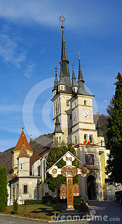 Saint Nicholas Church Brasov landmark